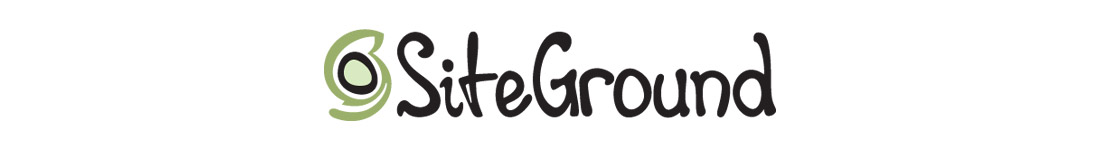banner of SiteGround with logo